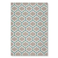 Threshold™ Indoor Outdoor Flatweave Fretwork Rug--also in yellow or red Indoor Outdoor Area Rugs, Outdoor Living, Rugs In Living Room, Room Rugs, Woven Rug, Blue Area Rugs, Aqua, Teal, Turquoise