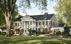 Tennessee Memphis Home of Elvis Presley Postcard Graceland Garden /& Trees