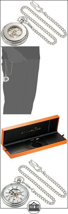 Stührling Original 6053.33113 - Reloj analógico para unisex acero inoxidable, color plateado  ✿ Relojes para hombre - (Gama media/alta) ✿