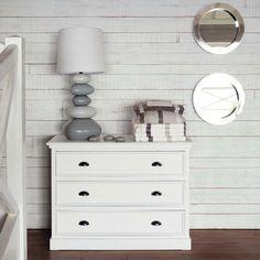 Holzkommode, B 115cm, weiß Newport | Maisons du Monde