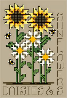 My daughter would love this - she LOVES sunflowers - might have to do this up for her for her b'day some time