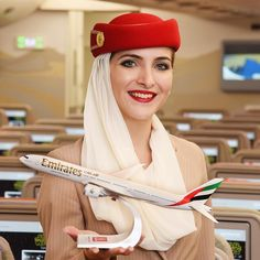 Emirates stewardess...image Instagram