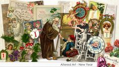 Altered Art - New Year