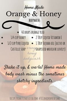 OH my gosh, am I in love with this product… My friend and sponsor, Tracey Campbell had a make and take for the holidays and one of the items on the menu was this orange honey body wash. Let m…
