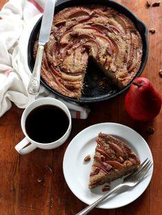 Pear Cinnamon-Sugar Skillet Cake by Completely Delicious, via Flickr