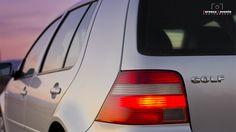 VW Golf Mk4 back