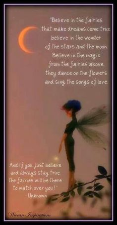 """Believe in the Fairies"""