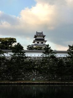 Imabari Castle, Imabari City, Japan. A complete reconstruction of a 17th century Japanese castle.(c) GTH & Nathan DePetris