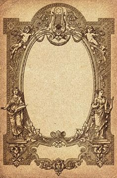 Free Vintage Frame from Old Sheet Music Cover is part of Clip art vintage - Rotulação Vintage, Vintage Labels, Vintage Frames, Vintage Paper, Vintage Prints, Graphics Vintage, Vintage Dance, Vintage Logos, Retro Logos