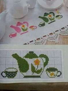 This Pin was discovered by Mer Cross Stitch Borders, Cross Stitch Charts, Cross Stitch Designs, Cross Stitching, Cross Stitch Embroidery, Hand Embroidery, Cross Stitch Patterns, Cross Stitch Kitchen, Bargello