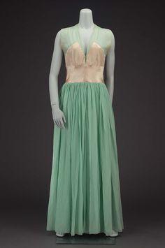 Evening dress, 1935.