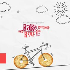 Bake Rolls Egypt Unofficial on Behance Food Poster Design, Sports Graphic Design, Creative Poster Design, Ads Creative, Poster Design Inspiration, Creative Posters, Creative Advertising, Menu Design, Ad Design