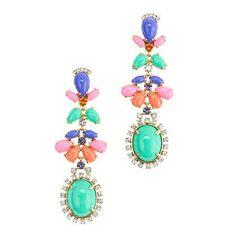 e725ff784ba8 Cabochon fan earrings- literally in LOVE. ジュエリー製作, 美しいイヤリング, ジュエリーアクセサリー