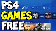 how to get free games on ps4 - YouTube
