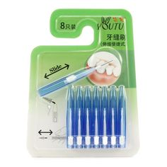 #BangGood - #Eachine1 Scalable Oral Clean Interdental Tooth Brush Between Compact Teeth Floss Toothpicks - AdoreWe.com