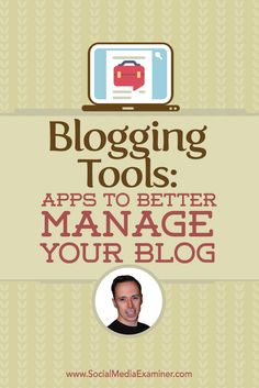Do you have a blog?  Want to improve the content development, publishing and promotion processes?  To discover how to streamline your blogging with the best tools, I interview Ian Cleary. Via @smexaminer