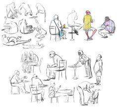 Zoo and Cafe Sketches - bmaras