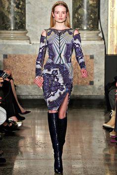 Emilio Pucci Fall 2012 Ready-to-Wear Fashion Show - Maud Welzen
