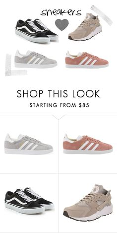 """sneakers"" by s0fiae on Polyvore featuring adidas Originals, Vans and NIKE"