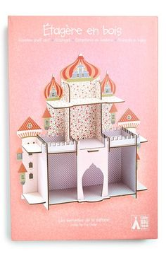 Djeco 'Persian Princess Castle' Wooden Shelf available at #Nordstrom