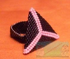 Churras y Merinas Manualidades: Anillo triangulo delicas - Tutorial completo