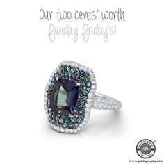 Alexandrite #MartinKatz #Platinum #Ring #Alexandrite #Diamonds #Amethysts #Garnet #Sapphires #Gemstones #Luxury #Style #Fashion #Fashionista #JewelryAddict #JewelryLover #Jewelry #Jewellery