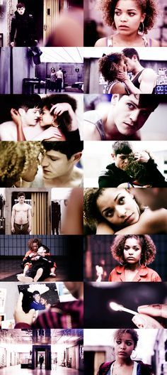 Misfits Simon and Alisha