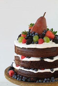 One of my all time favorite Naked Cakes!