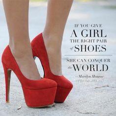 Good advice, Marilyn ;)
