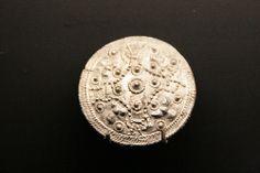 Disk brooch. WIkinger Museum Haithabu