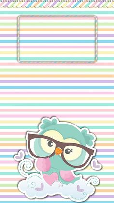 The iridescent prism of my iDevice. Owl Wallpaper Iphone, Cute Owls Wallpaper, Cute Wallpaper Backgrounds, Pretty Wallpapers, Cellphone Wallpaper, Baby Park, Paper Owls, Owl Cartoon, Cute Clipart