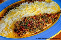 Almond Herb Crusted Baked Fish is an incredibly flavorful healthy Persian Fish preparation, steeped in herbs, spices, and adorned with tiny red berries.