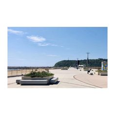 Point Promenade was a stand out project for both in its design and volume. In total over 240 pieces were produced, placed and installed - including Rectangular Pebble Bench Square Planter External Bin and Traffic Bollard.