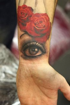 John Nemesis Anderson - must get an eye tattoo