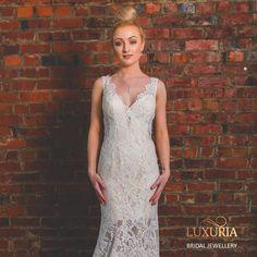 Bridal Jewellery online NZ. MWL Bride Dress, Made With Love Bridal Dress