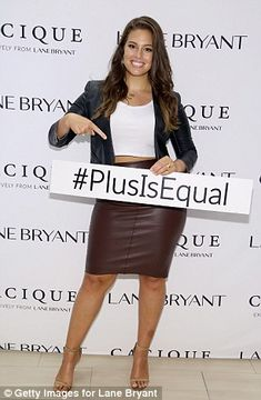 Lane Bryant, Ashley Graham and Candice Huffine launch #PlusIsEqual