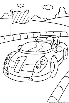 Car Coloring Pages For Kids The Coolest Free Transportation Sheets You Can Print Out