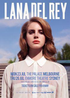 Lana Del Rey July 2012