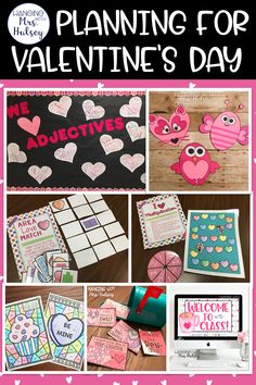 Easy, fun, and FREE ways to celebrate Valentine's Day in the classroom! Kindness Bulletin Board, Bulletin Board Display, Fun Math, Math Games, Area And Perimeter, Bar Graphs, Valentines Art, Classroom Fun, Telling Time