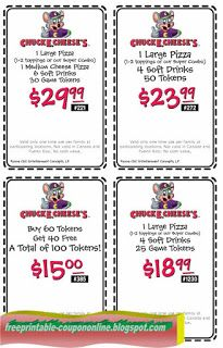 Chuck E Cheese Coupons Ends of Coupon Promo Codes JUNE 2020 ! Chuck E Cheese is a place where a child can become an adult, and parents. Mcdonalds Coupons, Kfc Coupons, Walgreens Coupons, Pizza Coupons, Chuck E Cheese, Bakery Supplies, Party Supplies, Free Printable Coupons, Free Printables