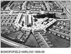 Bishopsfield, Harlow, Essex, England I used to live here in #50.  Best place I ever lived in.  Most unusual design and pleasant.