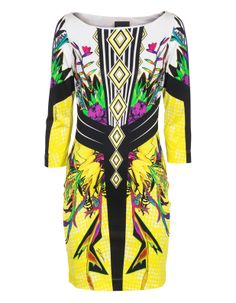 Bright Tropical Graphic Multi by JadesFashion