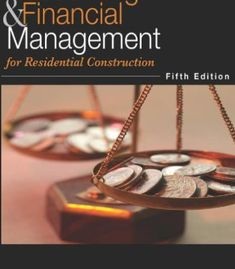 Accounting & Financial Management for Residential Construction PDF