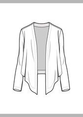 OUTER Fashion technical drawings flat Sketches vector template - Buy this stock vector and explore similar vectors at Adobe Stock Flat Drawings, Flat Sketches, Art Drawings Sketches, Technical Drawings, Drawing Templates, Drawing Clothes, Models, Fashion Flats, Fashion Sketches
