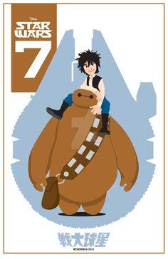 Big-Hero-Six-Star-Wars by CuddleswithCats