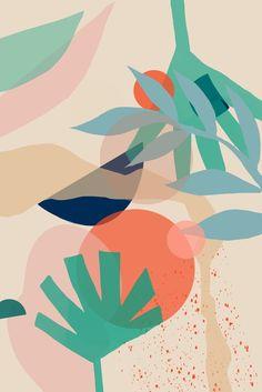 Abstract art print modern art print abstract wall art digital art digital print print wall decor home decor Giclee print Modern Art Prints, Wall Art Prints, Modern Wall, Logo D'art, Art Watercolor, Wall Drawing, Art Et Illustration, Illustrations, Art Moderne