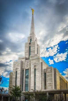 """Walk Uprightly"" Oquirrh Mountain Utah LDS Temple #FineArt #Photog #Mormon"