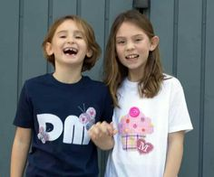 Personalised children's T shirts by Titchy.net