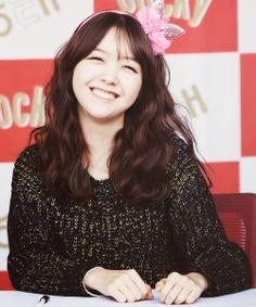 Amazing Bang Minah eye smile