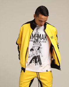 Bike Suit, Bruce Lee, Bomber Jacket, Suits, Leather, T Shirt, Jackets, Tops, Women